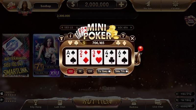 mini poker