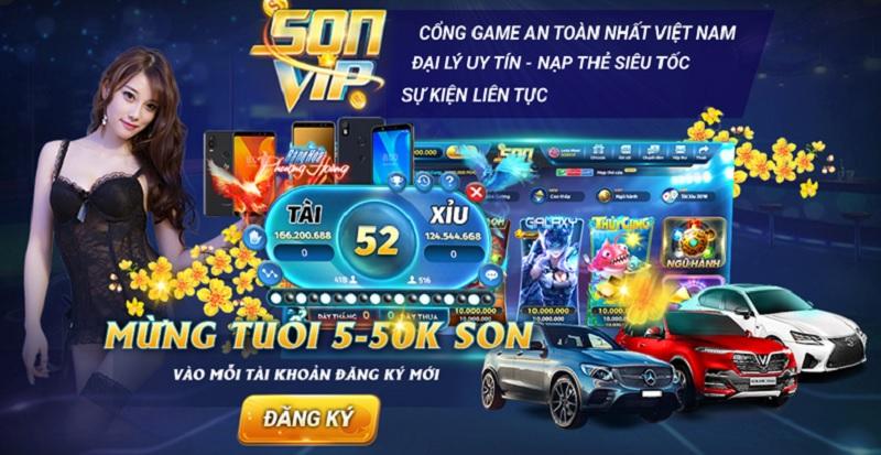 Link tải game bài sonvip club cho điện thoại Android, ios