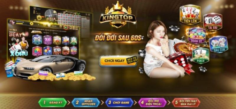 Nhà cái King Top | Link tải game bài King Top cho điện thoại Android, ios