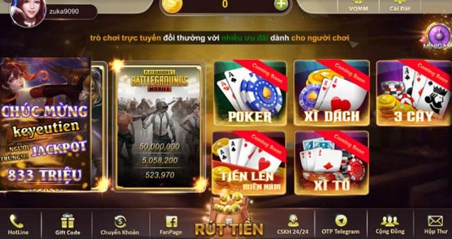 Hệ thống trò chơi King Of Mobile chất lượng cao