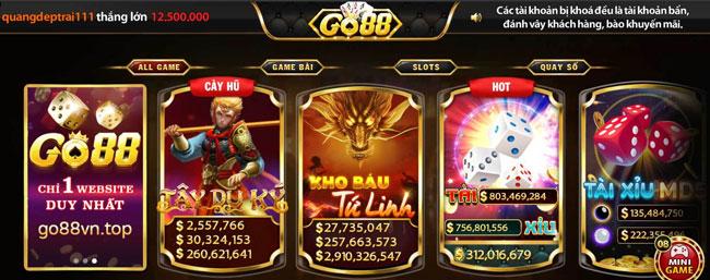 Hệ thống trò chơi ChoiGo88 đỉnh cao
