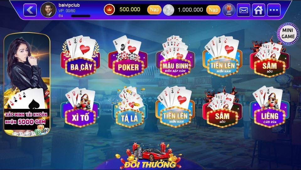 Tỷ lệ đổi thưởng cao ngút ngưỡng của những game đánh bài đổi thưởng