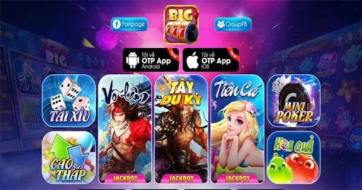 Chơi trò chơi slot đã con mắt cùng nhà cái Big777 Club