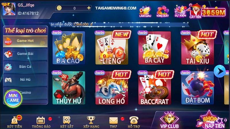 Game bài đổi thưởng là điểm mạnh của hầu hết mọi cổng game