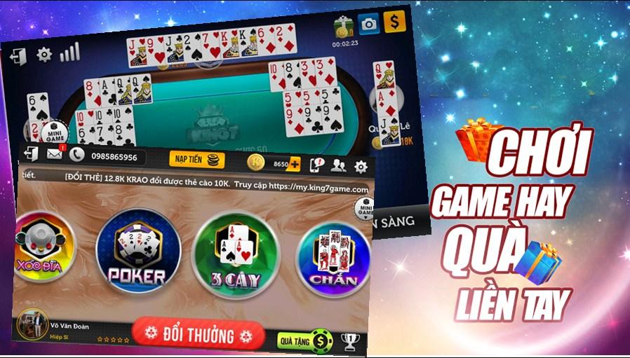 Game chơi bài ăn điểm đổi thẻ hiện giờ