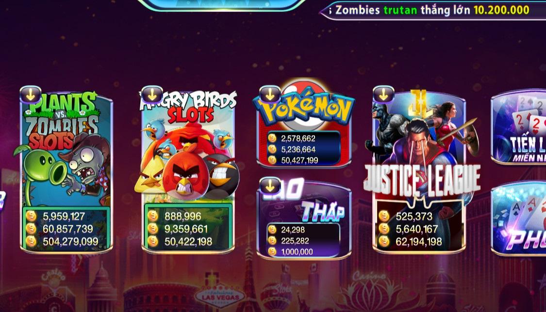nên lựa chọn Game bài online đổi thưởng đa dạng người